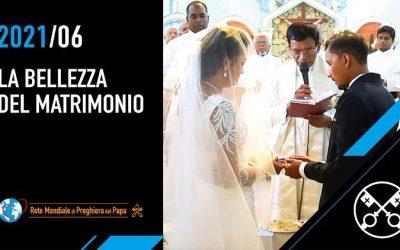 Ferenc pápa júniusi imaszándéka: a házasság szépségéért